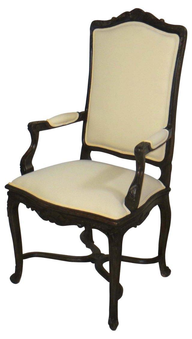 Louis XV-Style Armchair