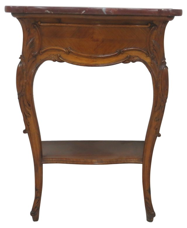 Rouge Marble-Top   Console