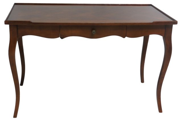 Parquetry Louis XV-Style Desk