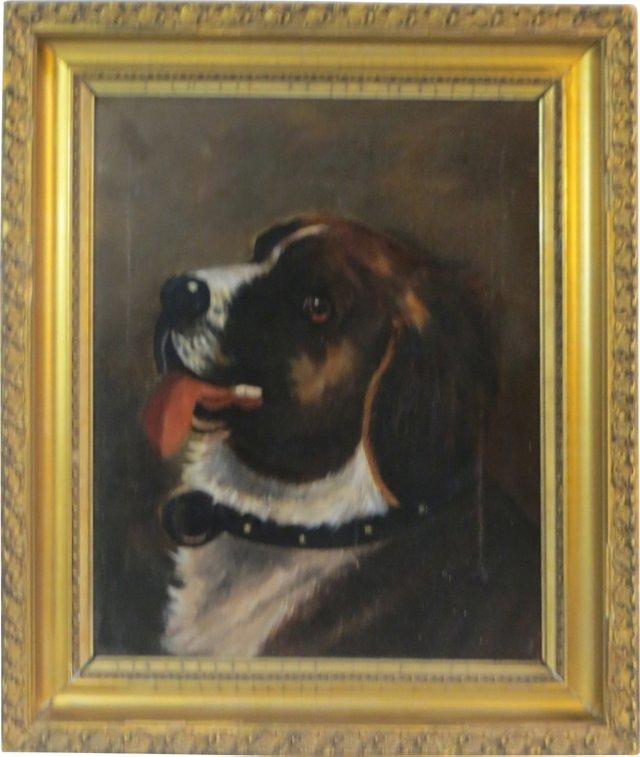 Saint Bernard Portrait