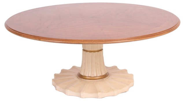 Column-Base  Coffee Table