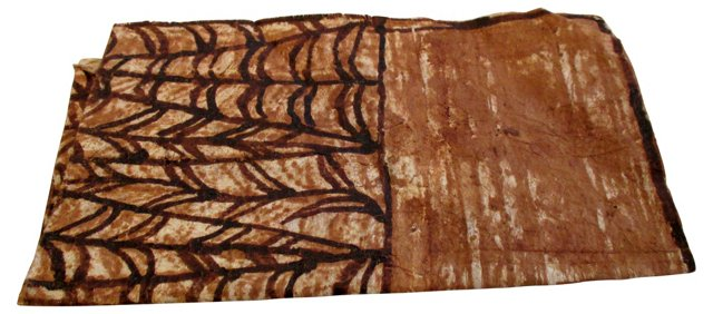 African Bark Cloth Fragment