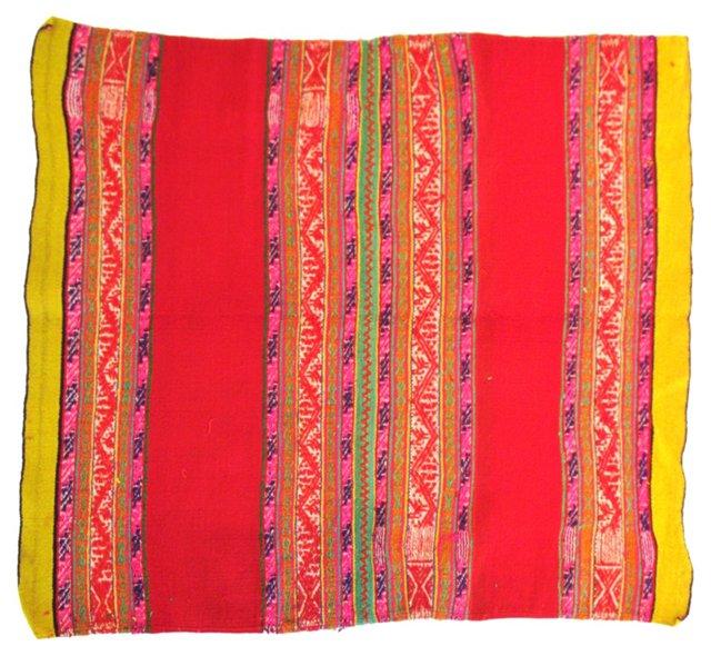 Handwoven Mexican Blanket