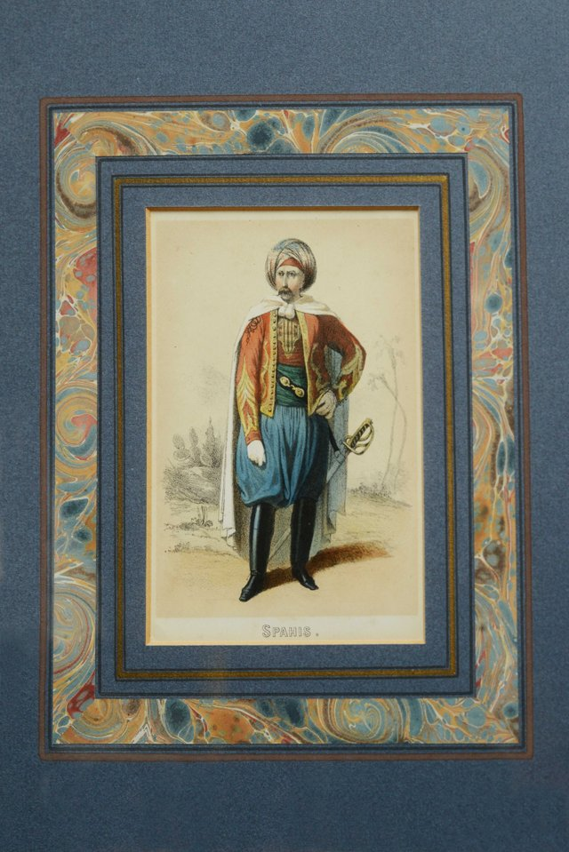Moroccan Soldier in French Calvary