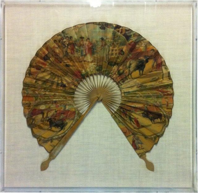 Framed Antique Spanish Fan