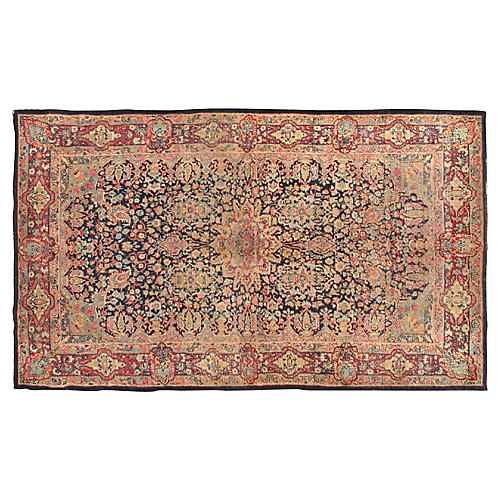 "Persian Lavar Rug, 3'10"" X 6'6"""