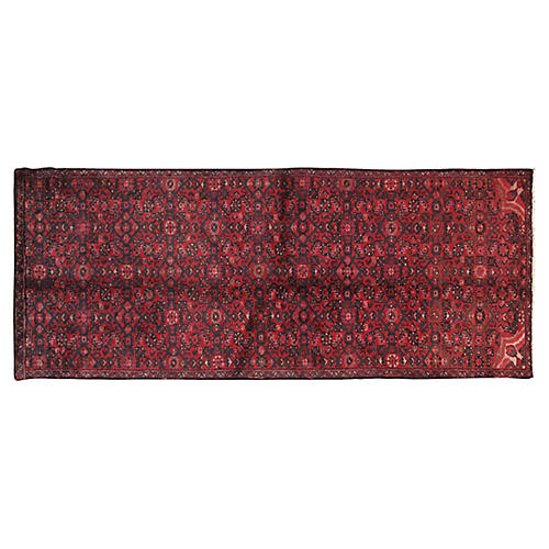 "Persian Hamadan Rug, 3' x 7'1"""