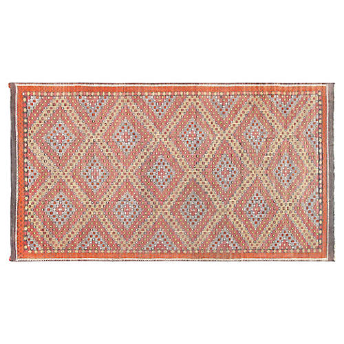 "Turkish Kilim, 6'3"" x 11'3"""