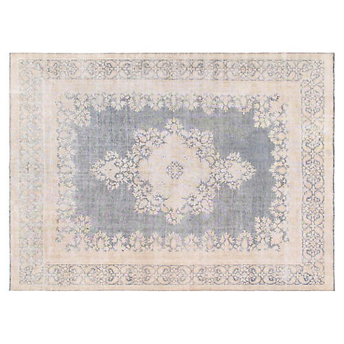 "Persian Overdyed Rug, 9'7"" x 13'5"""