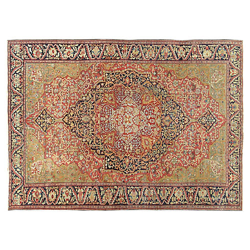 """Ferehan Hand-Knotted Rug,9'11"""" X 13'10"""""""