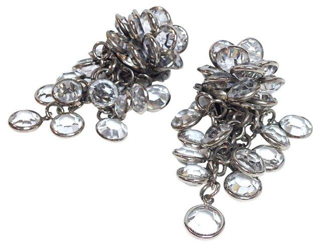 Sorrelli Clear Crystal Earrings