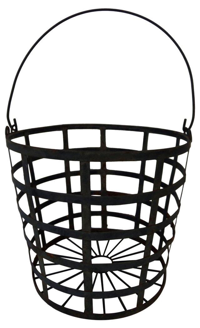 Black Iron Basket