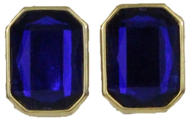 Royal Glass Earrings