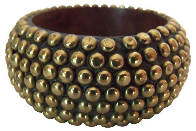 Goldtone Stud Bracelet