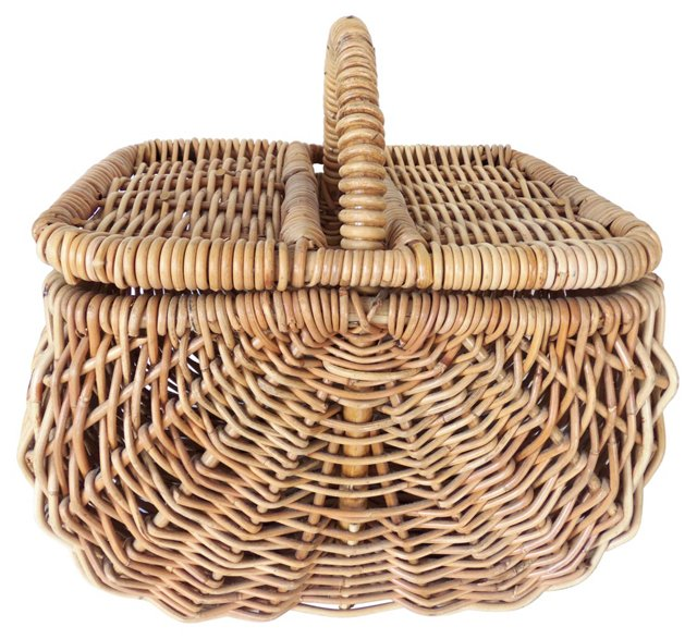 Basket w/ Removable Top