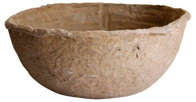 Turkish Papier-Mâché Bowl