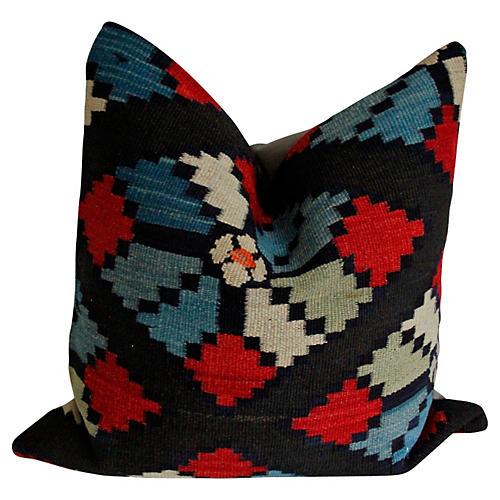 Wool Kilim Rug Pillow