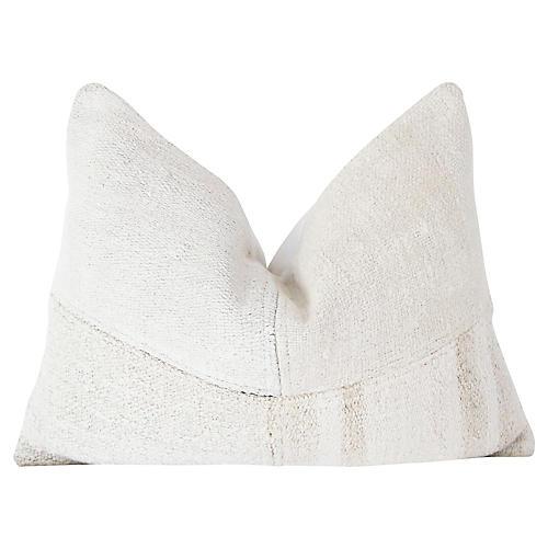 Organic Natural Kilim Pillow