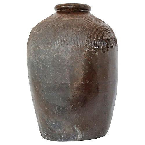 Antique Chinese Martaban Jar
