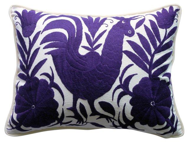 Royal Purple Otomi  Pillow
