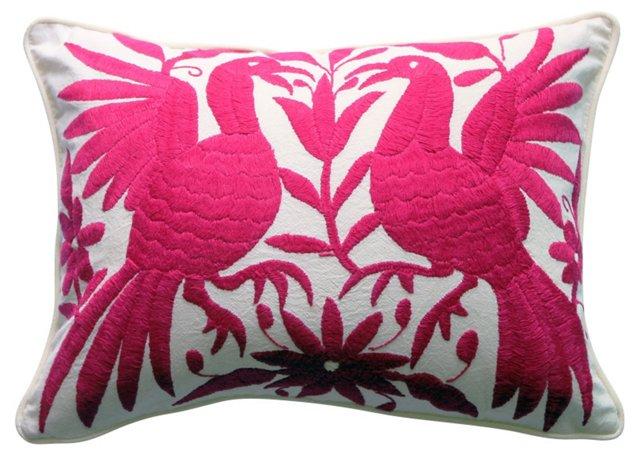 Fuchsia     Otomi Pillow