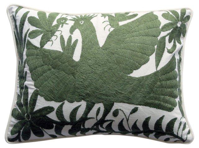 Green Otomi   Pillow