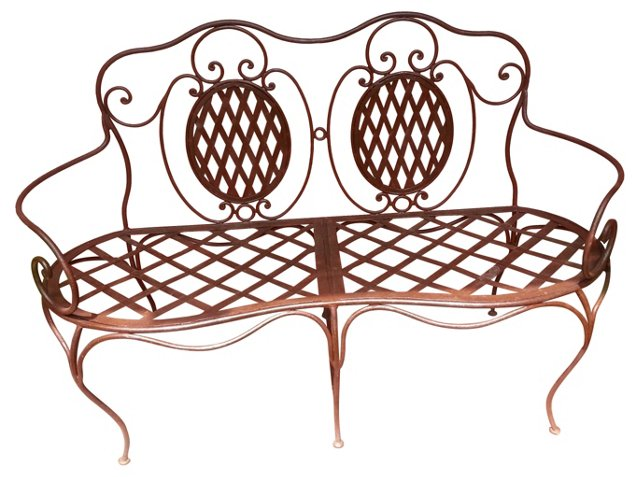 French Iron   Bench