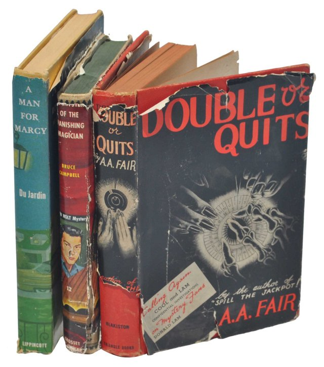 Midcentury Mystery Novels, S/3
