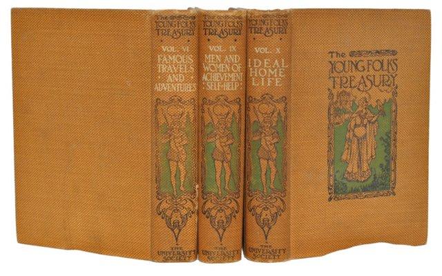 1909 Set of 3 Etiquette Books