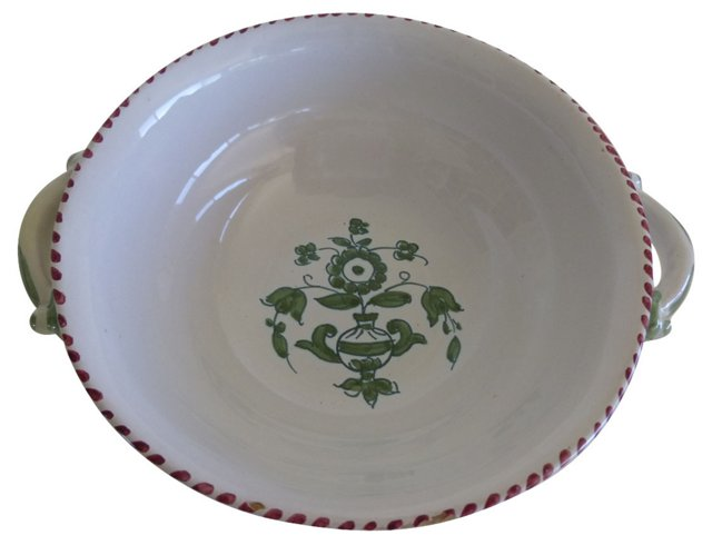 Hand-Painted Italian Dish