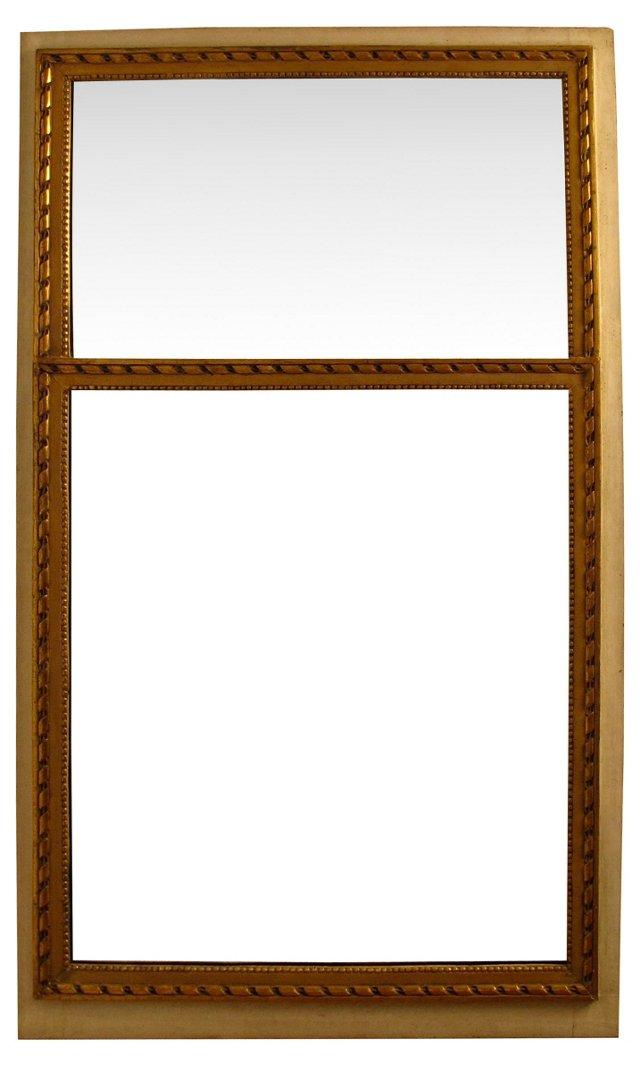 Parcel Gilt & Painted Mirror