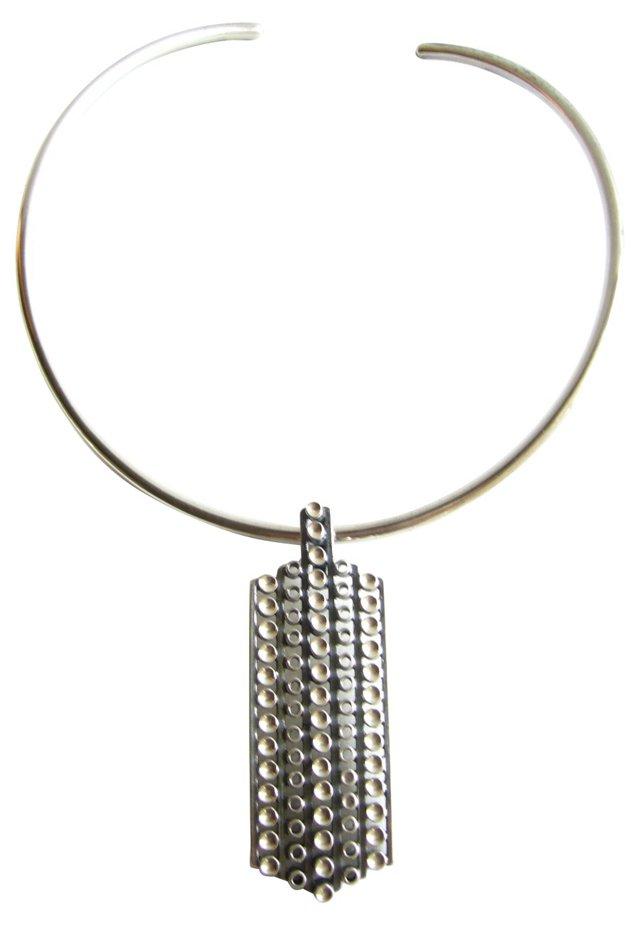 1960s David Andersen Sterling Necklace