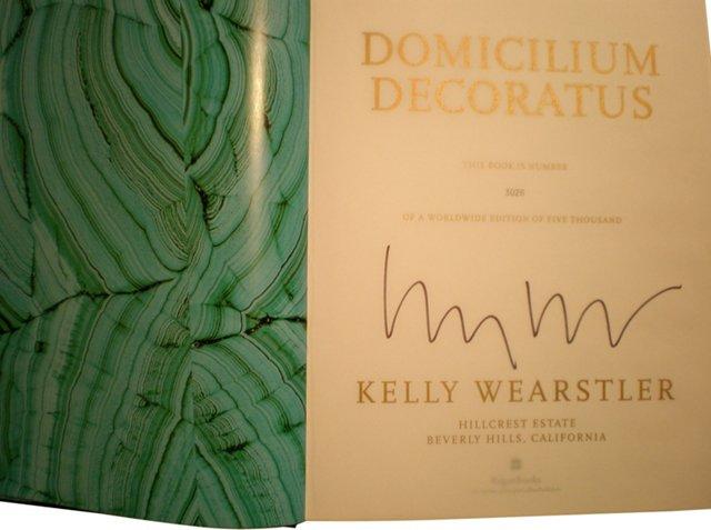Domicilium Decoratus, Signed Ltd. Ed