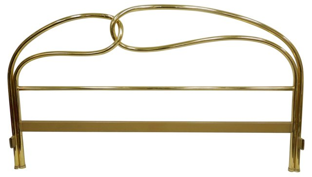 J B Ross Brass Headboard, Cal King
