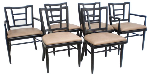 1960s  American Chairs, S/6