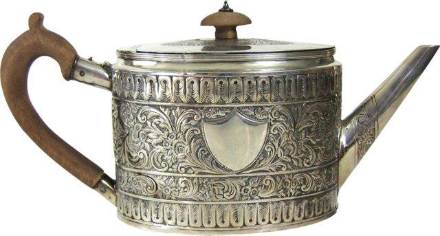 Late-18th-C. Fogelberg & Gilbert Teapot
