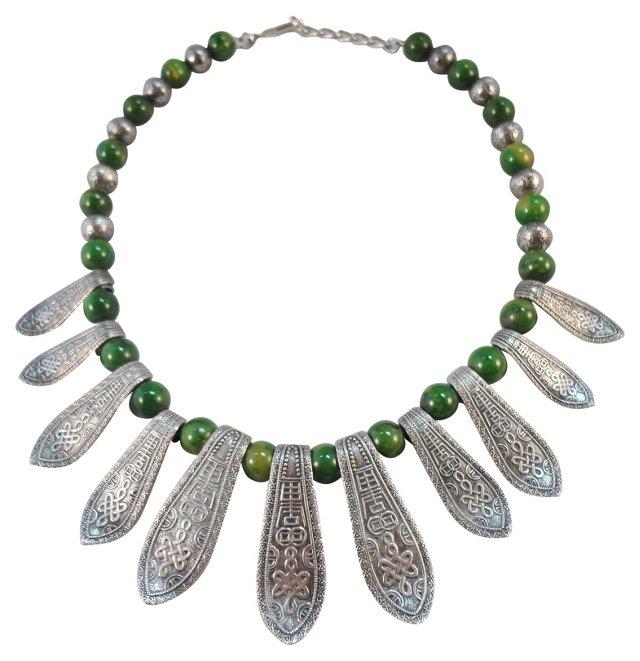 Napier Asian-Inspired Bakelite Necklace