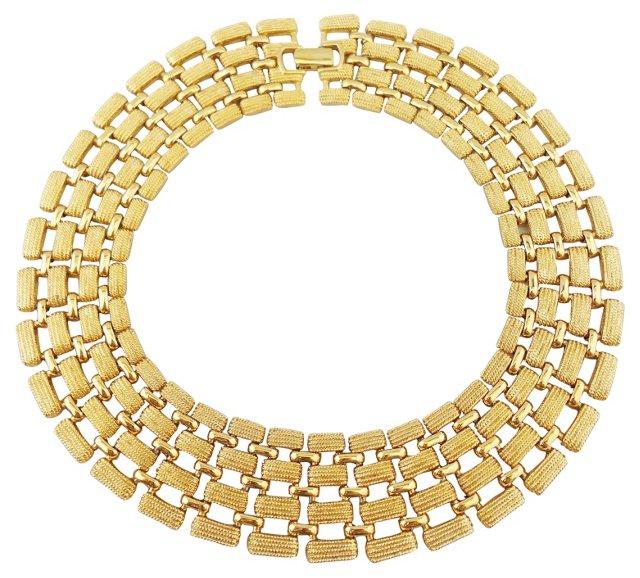 Napier Wide Collar Necklace
