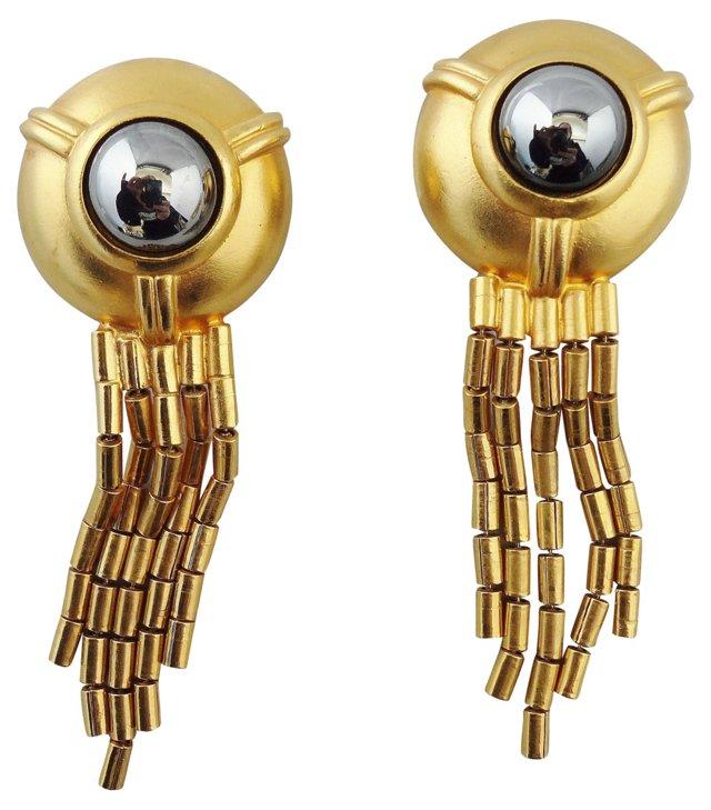 Ben Amun Tassel Earrings