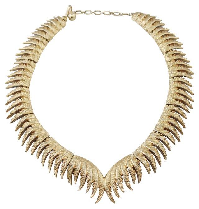 Trifari Leaf Necklace