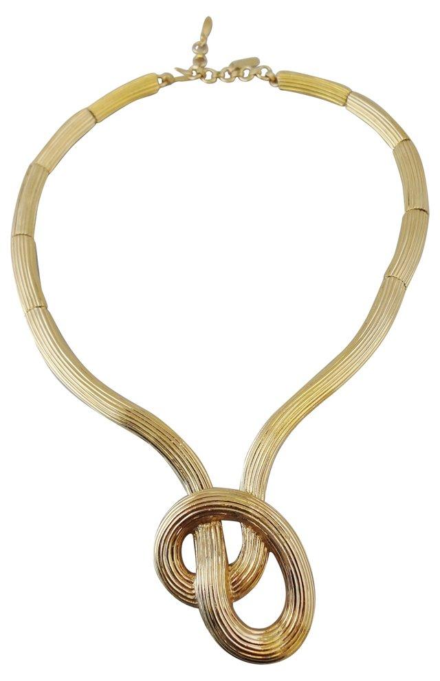 Monet Knot Necklace