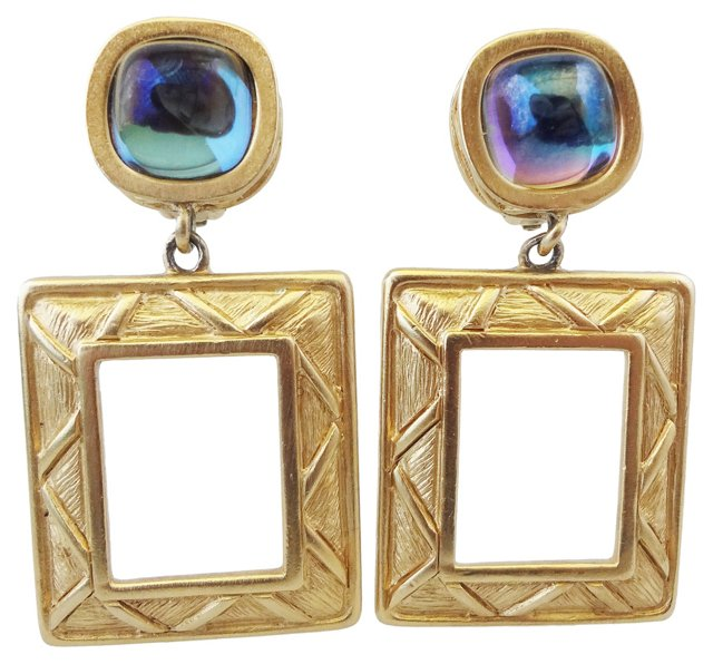 1980s Givenchy Earrings