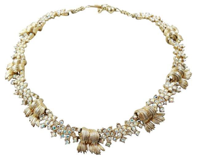 Boucher Aurora Borealis Collar Necklace