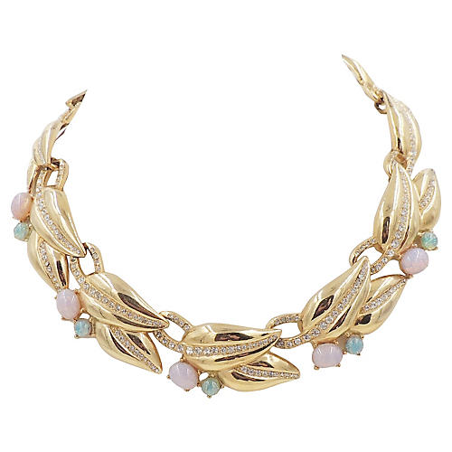 1980s Givenchy Faux-Opal Collar