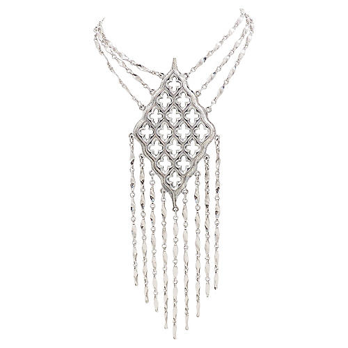 Napier Gothic Fringe Necklace