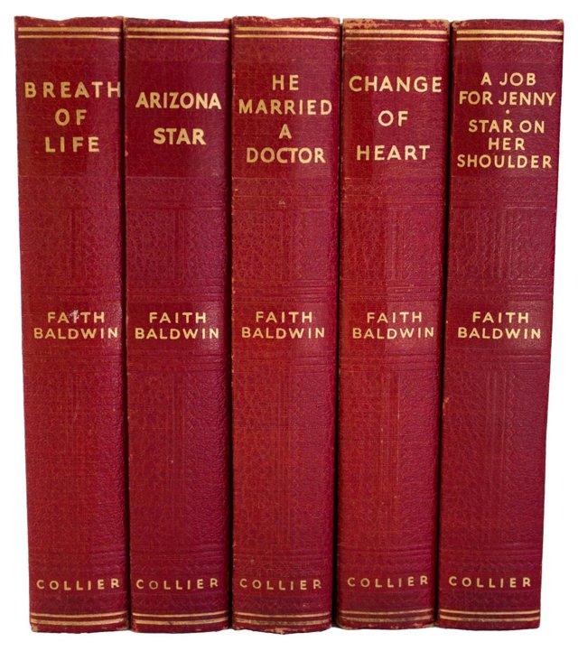 Faith Baldwin Stories, Set of 5