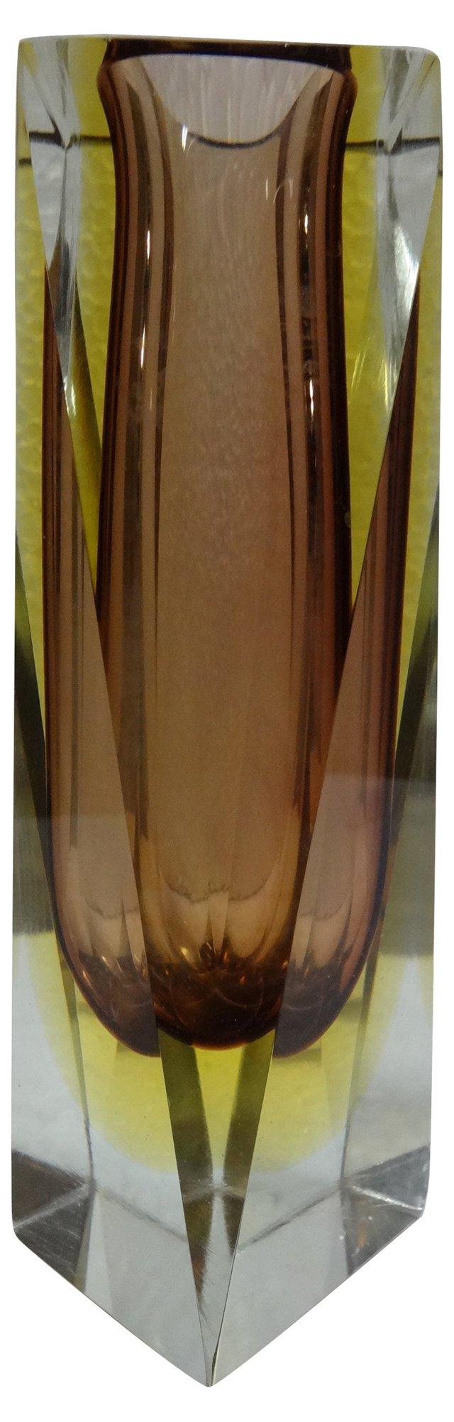 Modern Italian Glass Vase