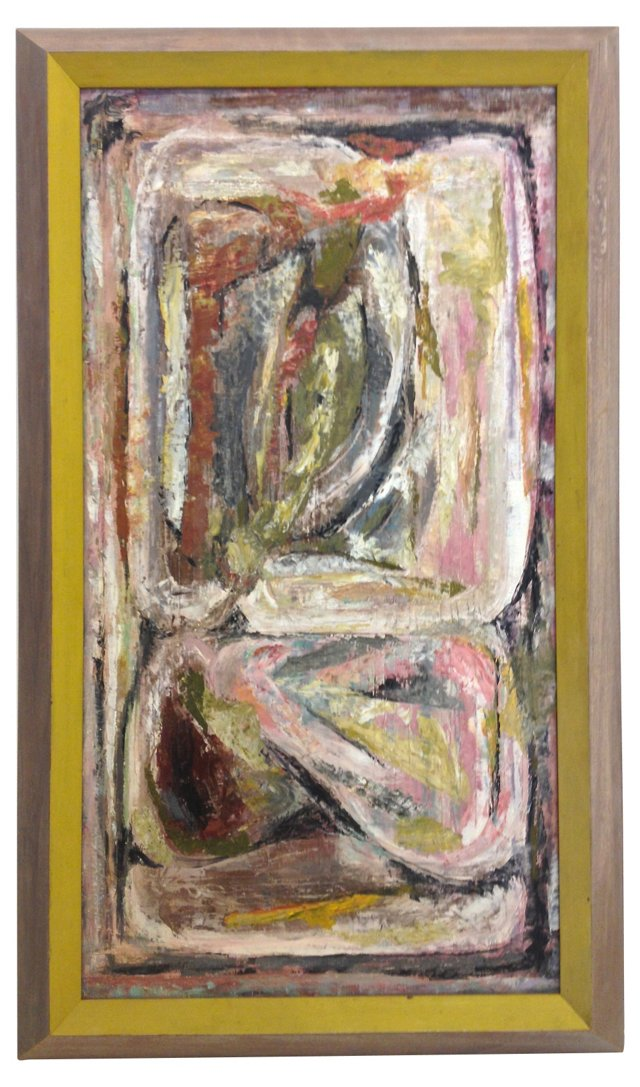 Midcentury Abstract Nude