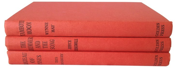 Decorative Red Books, S/3