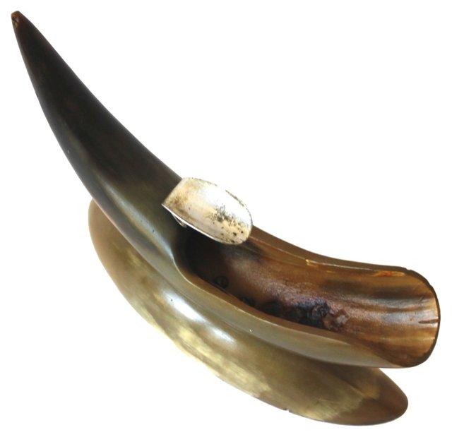 Horn Ashtray